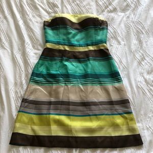 Limited Edition Silk Banana Republic Mini Dress